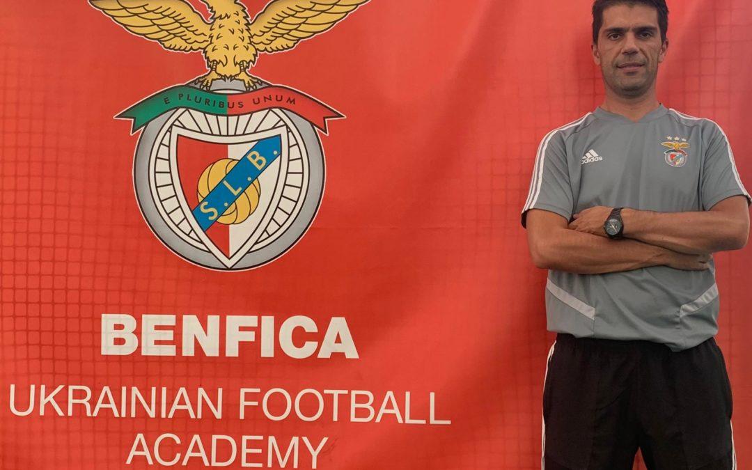Интервью с тренером футбольной школы Бенфика в Киеве Альфредо Алмейда
