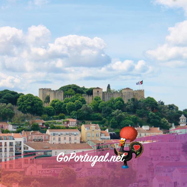 Замок Святого Георгия (Castelo de São Jorge) в Лиссабоне. Почему вам стоит посетить это место.