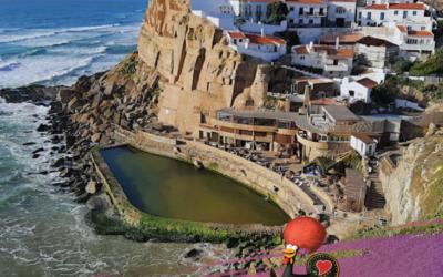 Азеньяш-ду-Мар, красивое место в Португалии недалеко от Синтры, о котором мало кто знает.